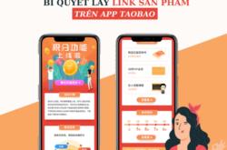 Bí quyết lấy link sản phẩm trên app Taobao